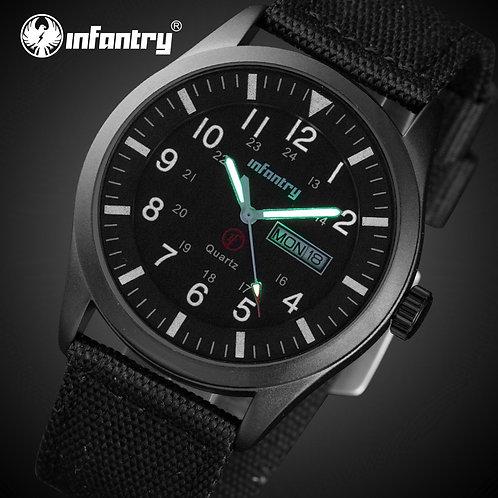 INFANTRY Mens Watches Top Brand Luxury Military Watch Men Daytona Luminous
