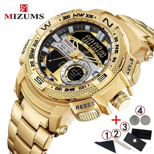 Relogio Masculino 2019 Gold Watch Men Luxury Brand Golden Military Male Watch