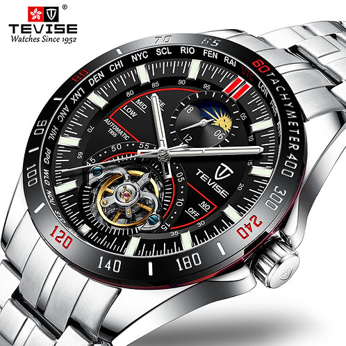 2020 Tevise Mechanical Watches Fashion Luxury Men's Automatic Watch