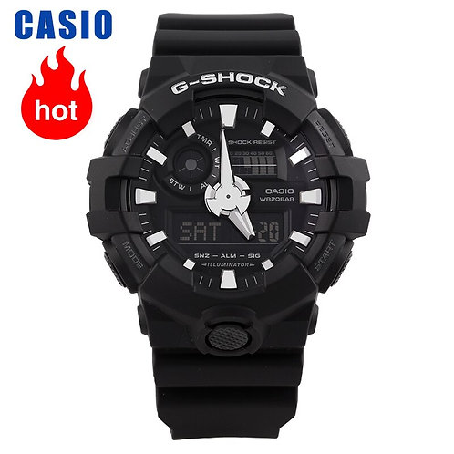 Casio Watch G-Shock Series Trendy Sports Men's Watch GA-700-1B