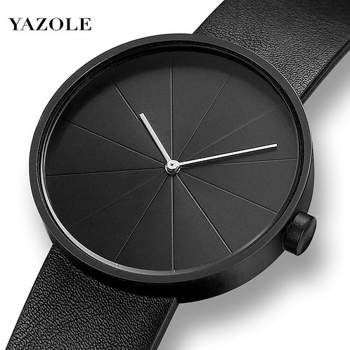 YAZOLE Minimalist Men's Fashion Ultra Thin Watches Simple Men Business