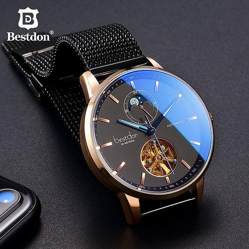 Bestdon Luxury Mechanical Watch Men Automatic Tourbillon Sports Watches Mens