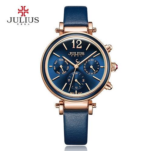 Real Functions Women's Watch ISA Mov't Hours Clock Fine Fashion Dress Bracelet