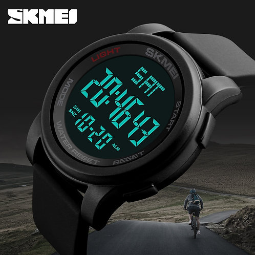 SKMEI Men Military Outdoor Sports Watches Waterproof Relojes Electronic LED