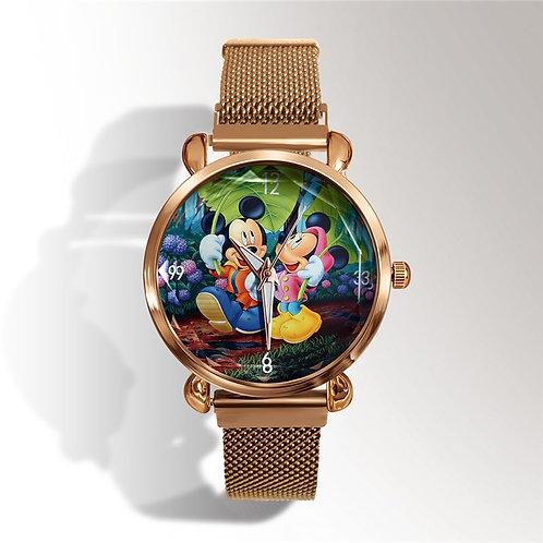 Reloj Mujer Top Brand Luxury Mickey Minnie Women Watch Ladies Watch
