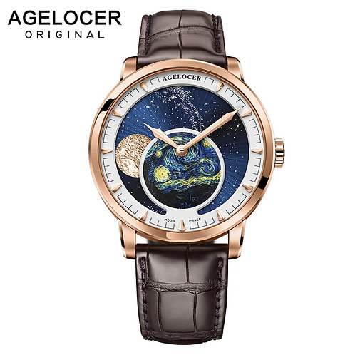 AGELOCER Men Watches Swiss Top Brand Luxury Mechanical Automatic Watch