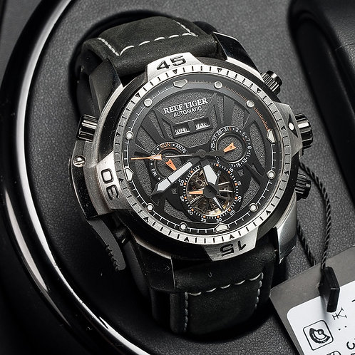 Reef Tiger/Rt Sport Watch Complicated Dial With Year Month Perpetual RGA3532
