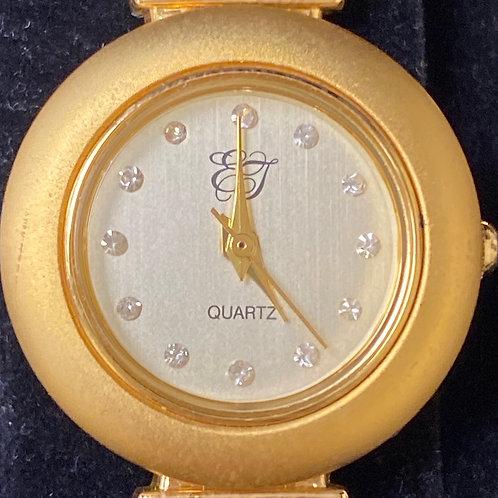 Ladies Elegant Interchangeable Bezels EJ Quartz Wristwatch