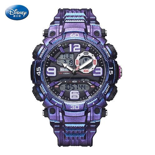 Disney Marvel Waterproof Multifunctional Sports Watch 10bar Men's Watch Trendy