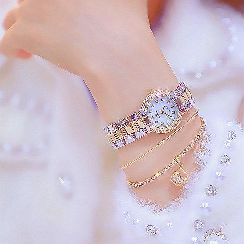 Top Brand Women Small Dial Wristwatch Ladies Diamond Quartz Watch Crystal Female