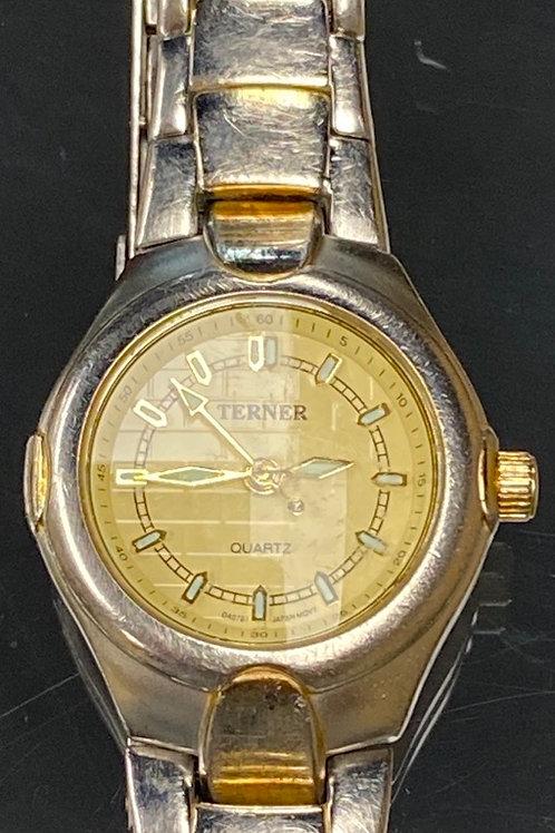 Ladies Bijoux Terner Quartz Two Tone Fashion Wristwatch