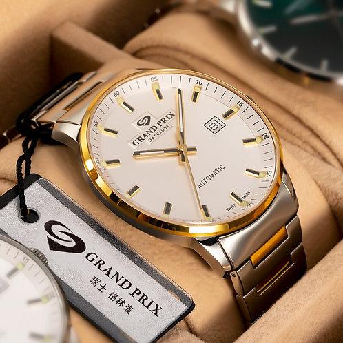 GRAND PRIX Luxury Top Brand New Watch Men Reloj Hombre Automatic Clocks Watches