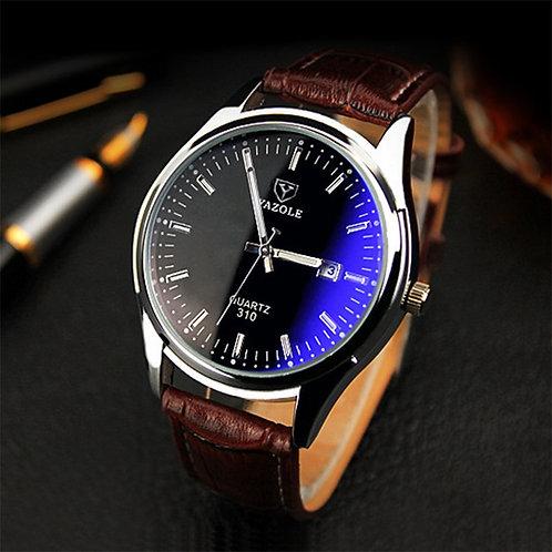 Relogio Masculino 2019 Brand Yazole Watch Business Belt Men's Watch Calendar