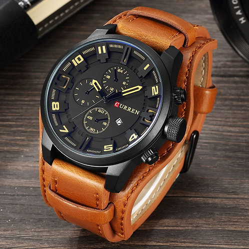 CURREN Men's Watches Top Brand Luxury Fashion&Casual Business Quartz Watch Date