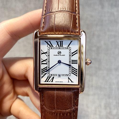 Fashion часы мужские Luxury Quartz Men Watch Leather