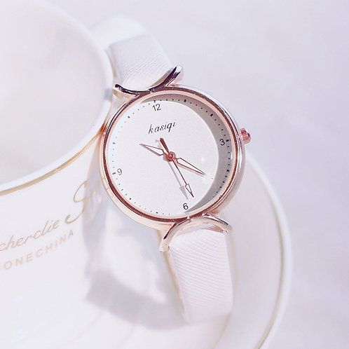 Montre Femme Simple Fashion Design Ladies Quartz Watch 2019 Female Leather