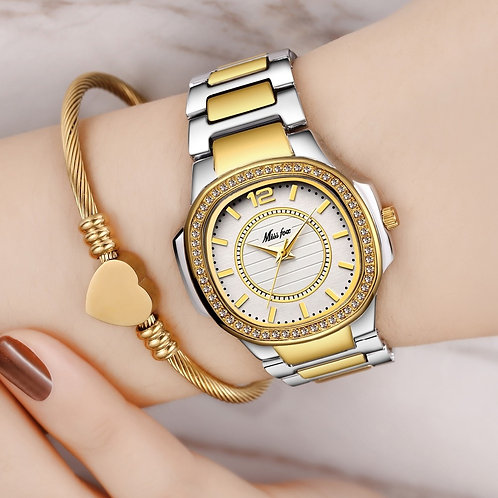 Dropshipping New 2020 Hot Selling Wrist Watches for Women Stainless Steel