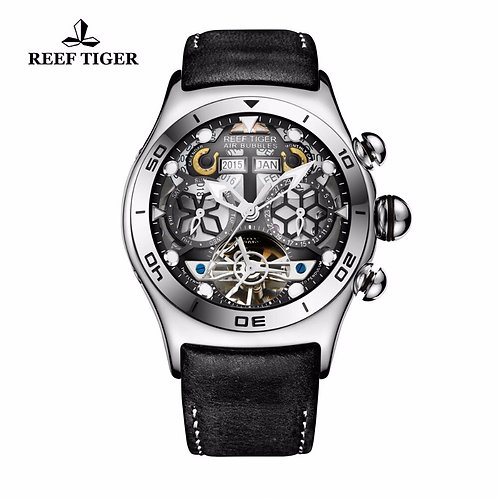 Reef Tiger/Rt Luminous Sport Watches for Men Year Month Calendar Auto RGA703