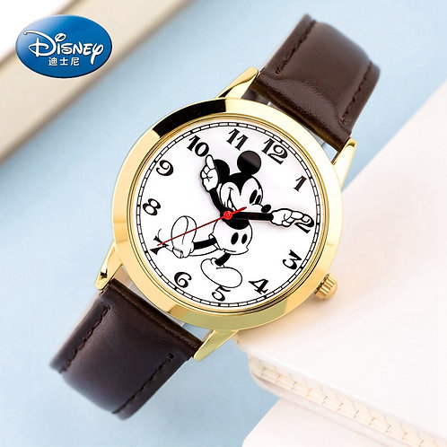 Original Disney Women Quartz Round Watch Authentic Mickey Mouse Cutie Love
