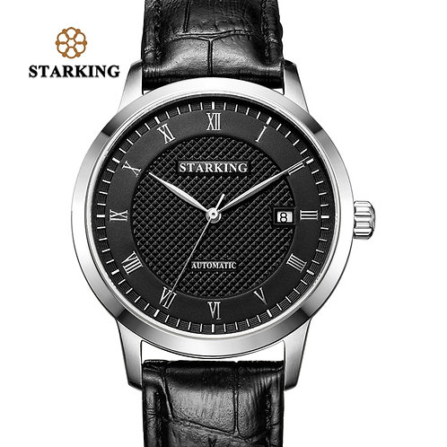 STARKING Business Watch Men Automatic Full Stainless Steel Roman Dial