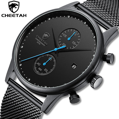 2020 New CHEETAH Luxury Men Watches Waterproof Simple Sport Male Clock Fashion