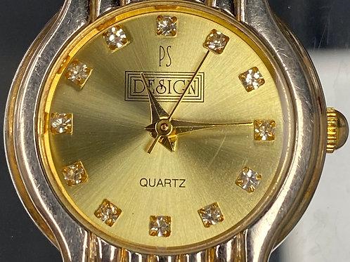 Ladies Classic Design Quartz Wristwatch