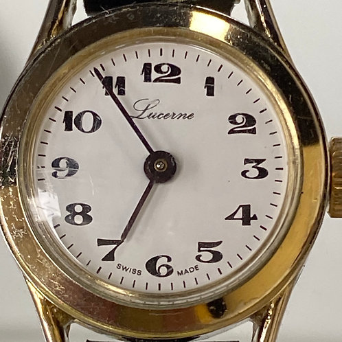 Ladies Stunning Vintage Mechanical Lucerne Wristwatch