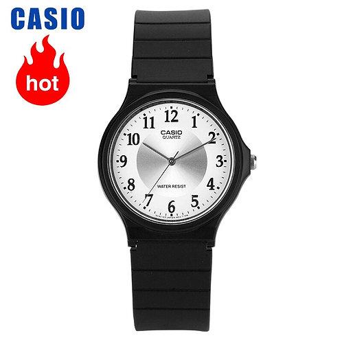 Casio Watch Small Black Watch Student Quartz Men and Women Watch MQ-24-7B3