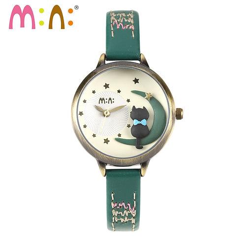 2017 Brand Mini 3D Cat Watch Waterproof Bracelet Quartz Wrist Watch Fashion