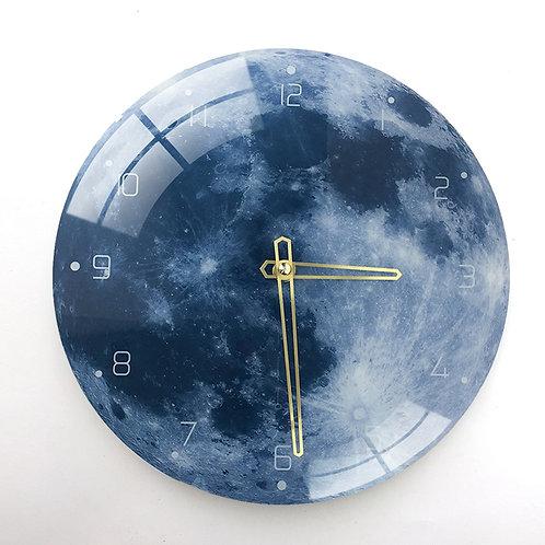 Nordic Marble Wall Clock Modern Minimalist Bedroom Clocks Personality Creative
