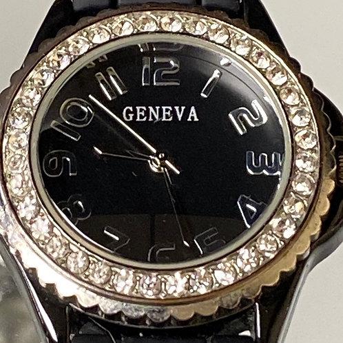 Ladies Beautiful Diamond Style Geneva Quartz Wristwatch
