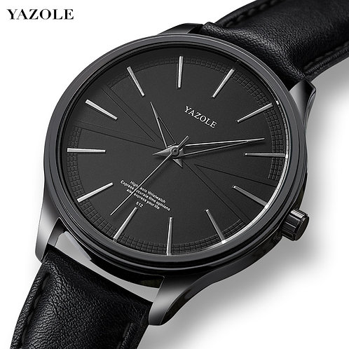 Yazole Mens Watches Men Fashion Simple Casual Quartz Watch Minimalist