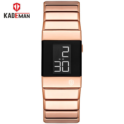 Fashion Women Bracelet Watches High Quality Rose Gold Stainless Steel Waterproof