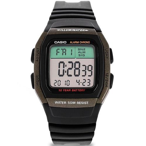 Casio Original Unisex Watch Black Digital Watch Set Brand Luxury LED Digital