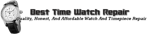 Best Time Watch Repair and Store Logo Transperent