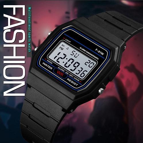 1/5pcsMen Sports Clock Digital LED Waterproof Wrist Watch Men Analog
