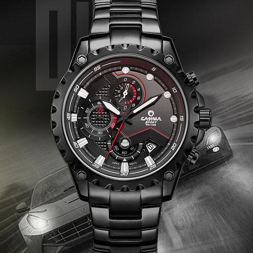 CASIMA Sport Chronograph Men Watches High-End Luxury Steel