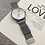 Thumbnail: Brand Sport Watches for Men Large Dial Magnet Buckle Quartz Creative Wristwatch