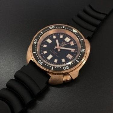 Steeldive Men Bronze Dive Watch 200M Water Resistant Ceramic Bezel Automatic