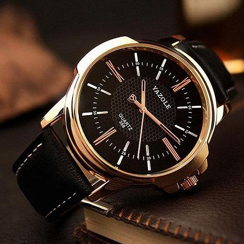 Rose Gold Quartz Watch