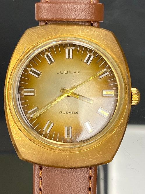 Men's Vintage Jubilee 17 Jewel Wristwatch