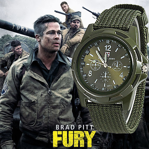 2019 Men Nylon Band Military Watch Gemius Army Watch High Quality Quartz