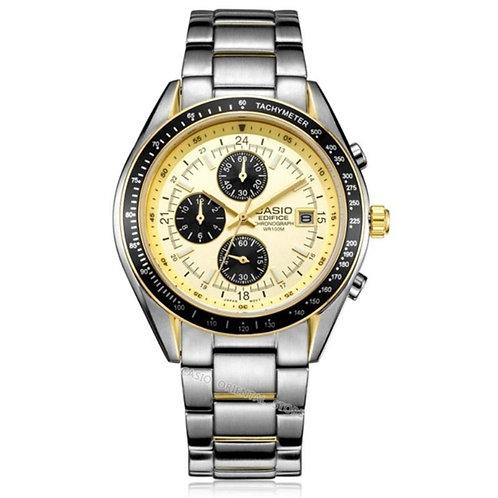 CASIO Ediffice Men's  Watch Hot Sale Business 10 Bar Waterproof Quartz Watch