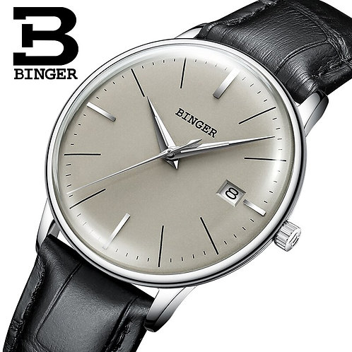 BINGER Stable and Reliable Mechanical Watches,Luxury Mech
