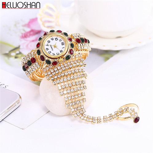 2020 Top Brand Luxury Clock Rhinestone Bracelet Watch Women Watches Ladies Wrist