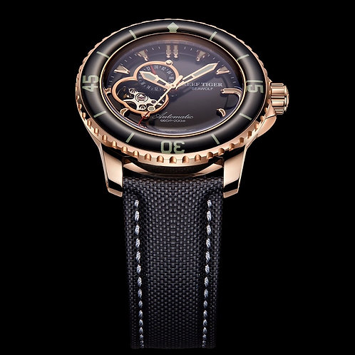 Reef Tiger/Rt Sport Automatic Watches for Men Rose Gold Super RGA3039