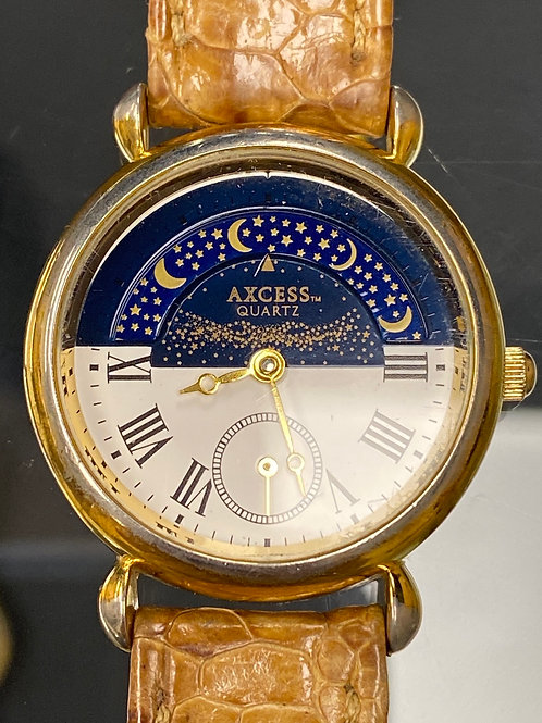 Ladies Moon Phase Axcess Wristwatch