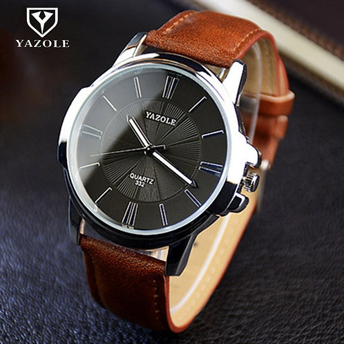 Hot YAZOLE Mens Watches Top Brand Luxury Blue Glass Watch Men Wristwatch
