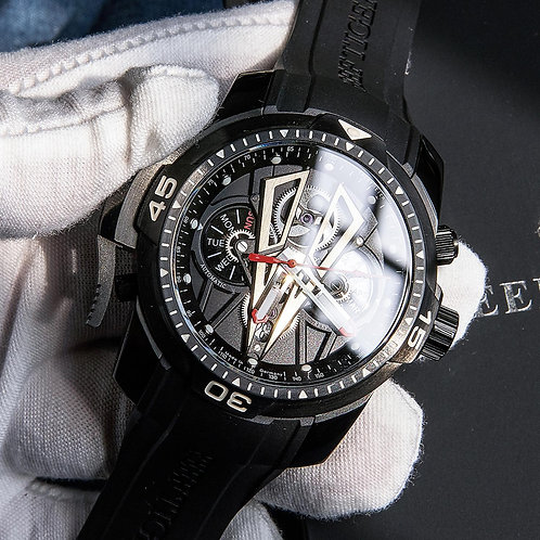 Reef Tiger/Rt New Arrival All Black Brand Luxury Waterproof Wrist Watch RGA3591