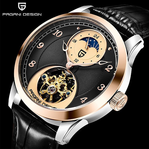 PAGANI DESIGN Fashion Men Mechanical Watch Luxury Sports Watch Men Stainless